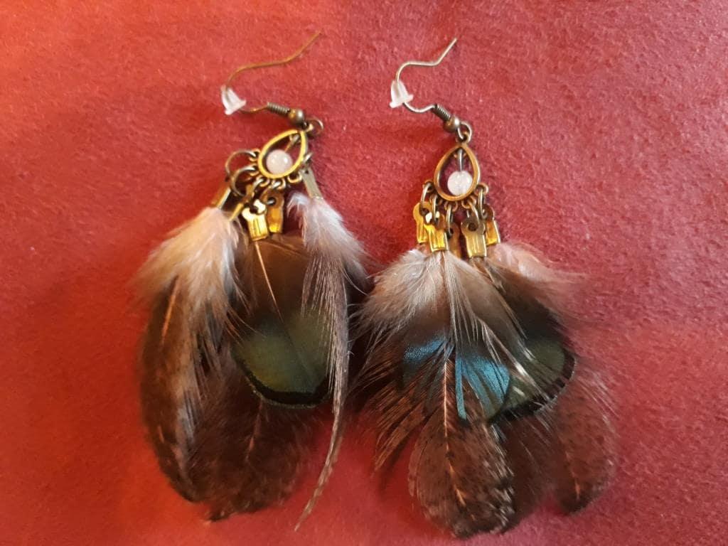 magic spiritual earrings